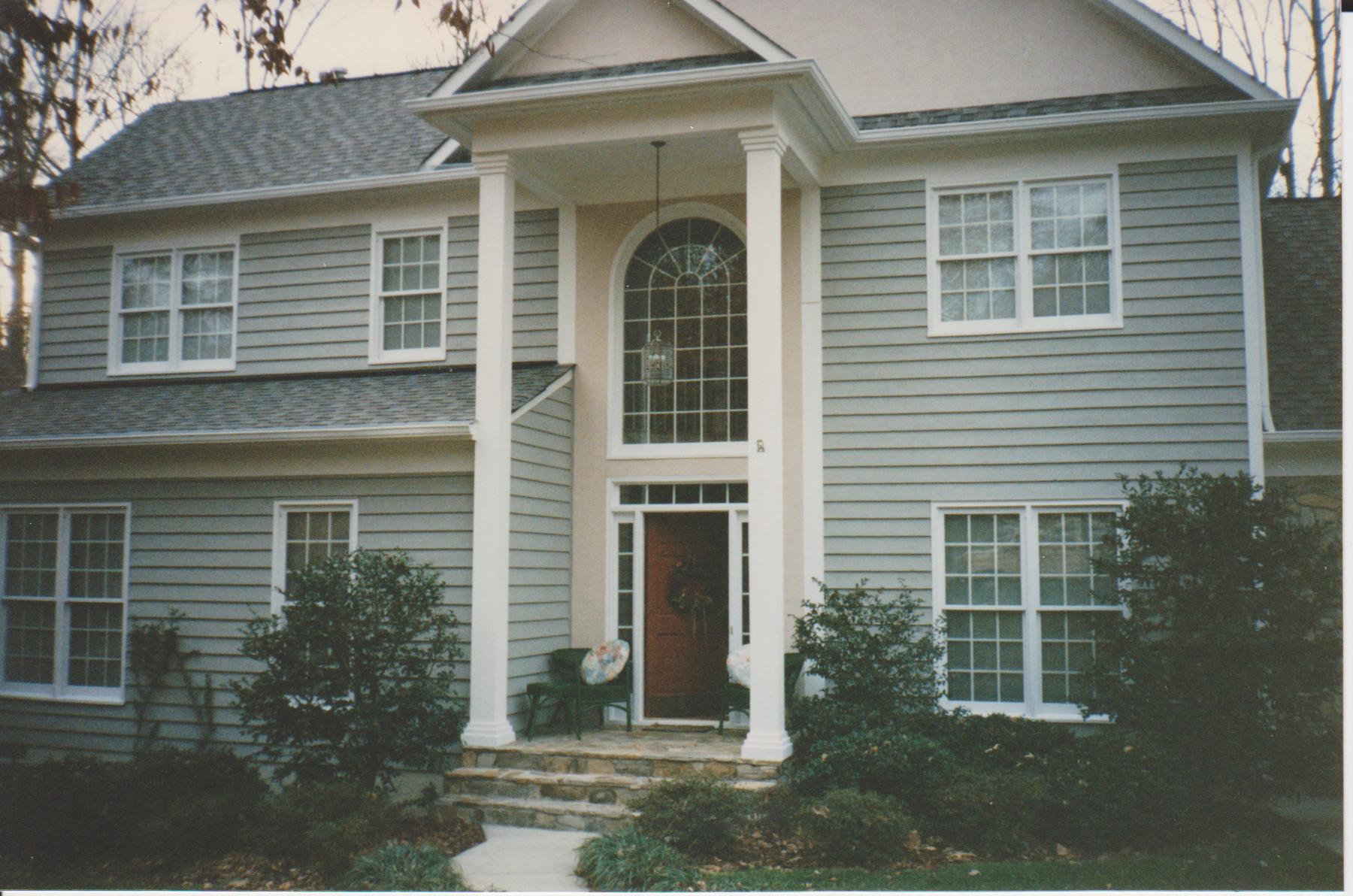 Exterior silve 001 professional painting contractor raleigh nc paint company painters - Exterior painting raleigh nc concept ...