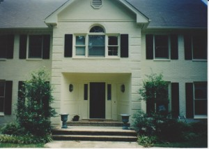 Exterior painting Raliegh