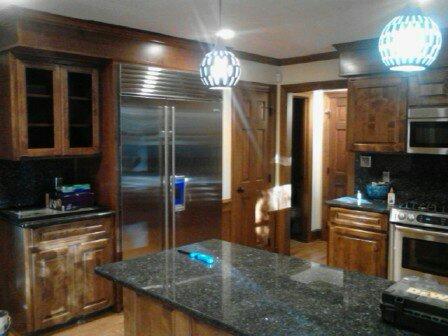 Kitchen painting kitchen cabinets