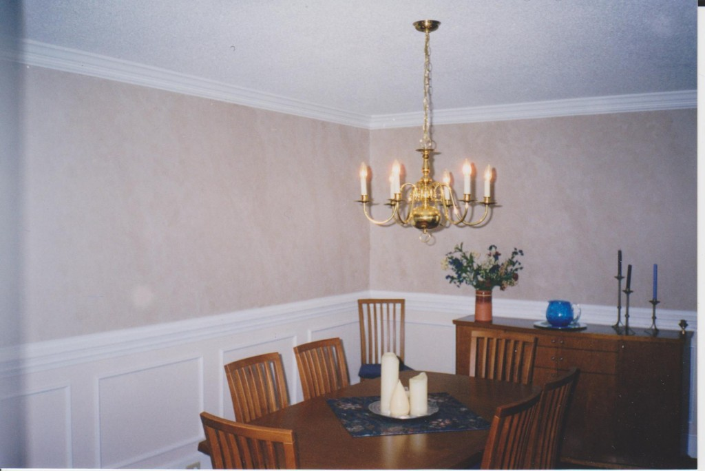 Interior faux dining room Painting
